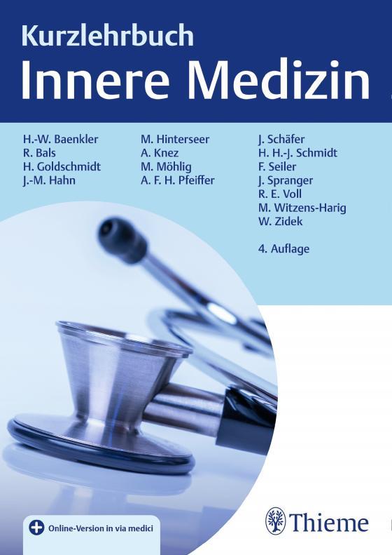 Cover-Bild Kurzlehrbuch Innere Medizin