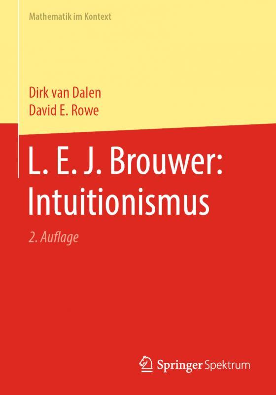 Cover-Bild L. E. J. Brouwer: Intuitionismus