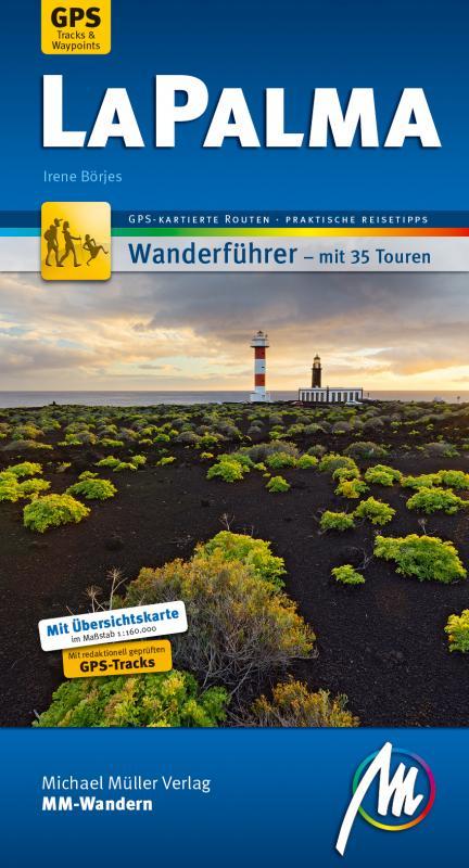Cover-Bild La Palma MM-Wandern Wanderführer Michael Müller Verlag