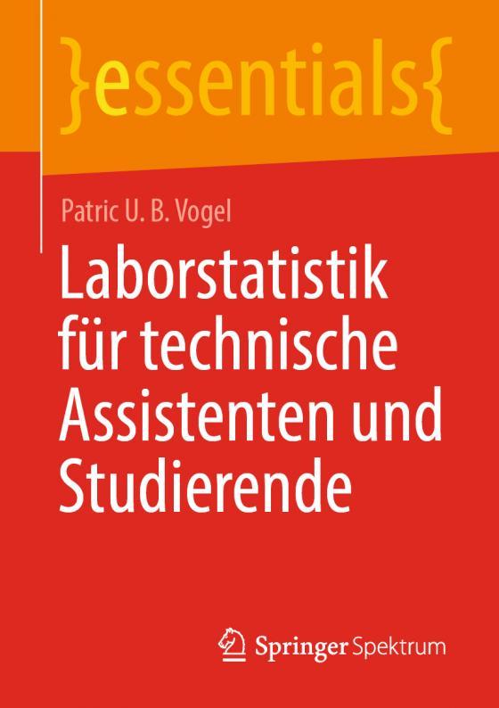 Cover-Bild Laborstatistik für technische Assistenten und Studierende