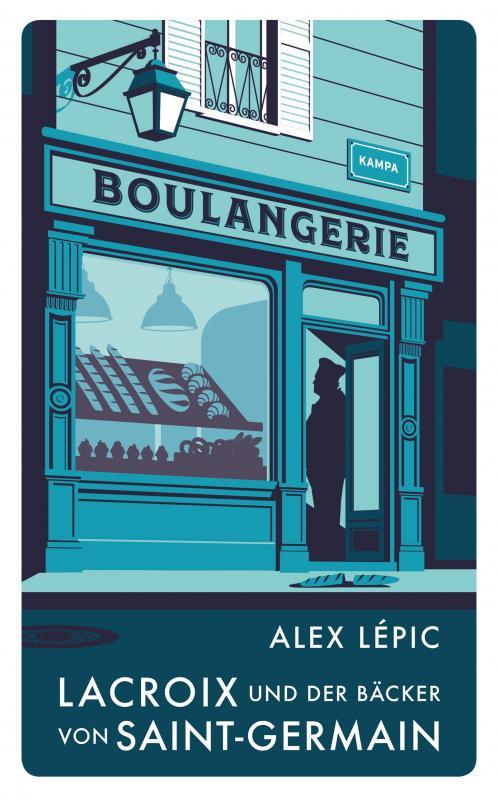 Cover-Bild Lacroix und der Bäcker von Saint-Germain