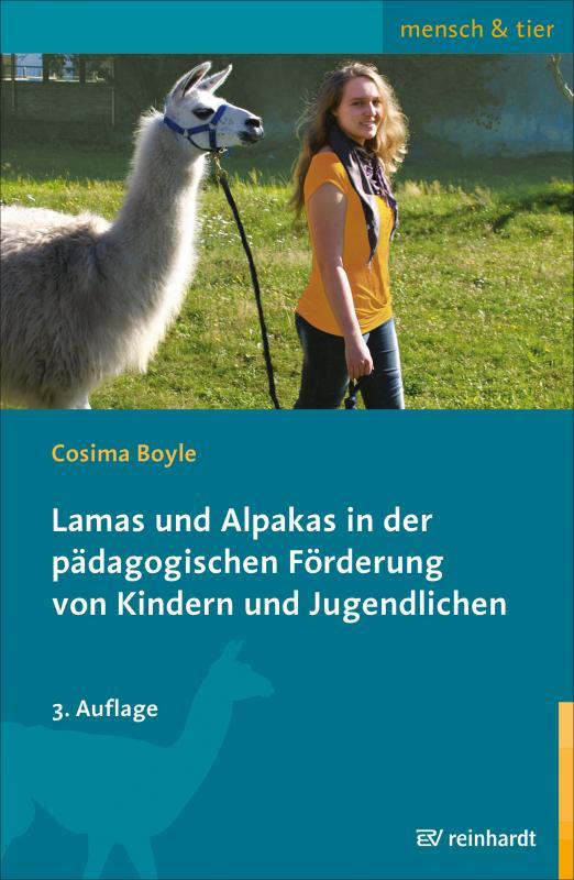 Cover-Bild Lamas und Alpakas in der pädagogischen Förderung von Kindern und Jugendlichen