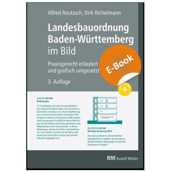 Cover-Bild Landesbauordnung Baden-Württemberg im Bild - E-Book (PDF)