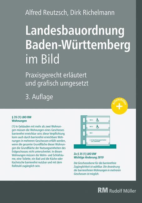 Cover-Bild Landesbauordnung Baden-Württemberg im Bild