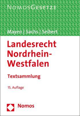 Cover-Bild Landesrecht Nordrhein-Westfalen