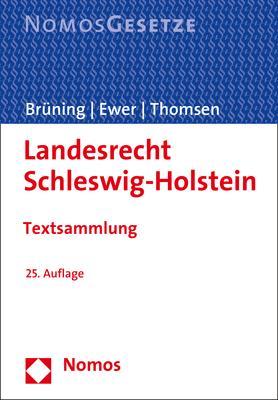 Cover-Bild Landesrecht Schleswig-Holstein