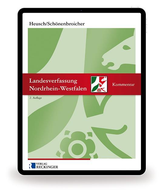 Cover-Bild Landesverfassung Nordrhein-Westfalen – Digital