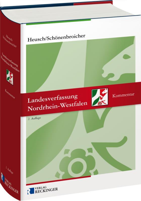 Cover-Bild Landesverfassung Nordrhein-Westfalen