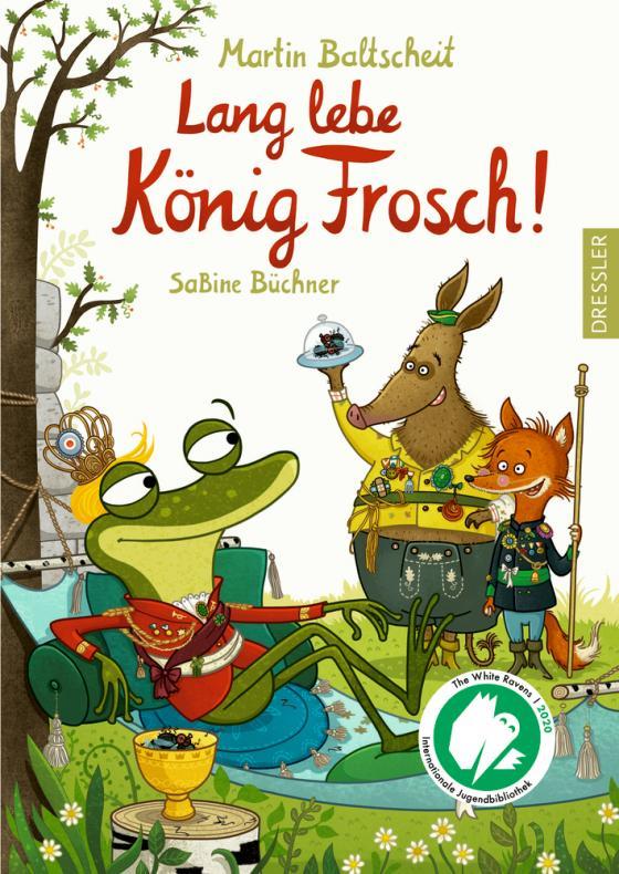 Cover-Bild Lang lebe König Frosch!