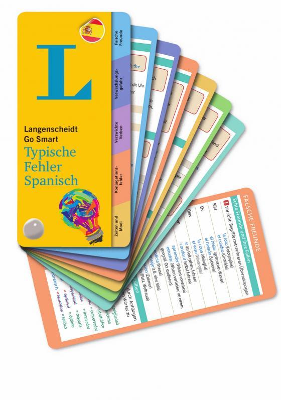 Cover-Bild Langenscheidt Go Smart Typische Fehler Spanisch - Fächer