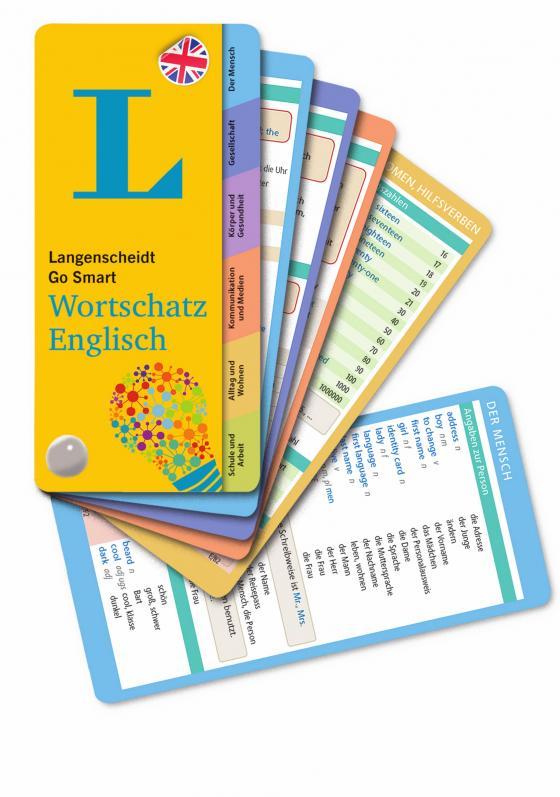 Cover-Bild Langenscheidt Go Smart Wortschatz Englisch - Fächer