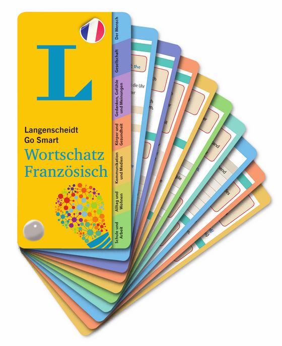 Cover-Bild Langenscheidt Go Smart Wortschatz Französisch - Fächer