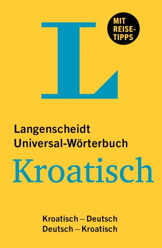 Cover-Bild Langenscheidt Universal-Wörterbuch Kroatisch