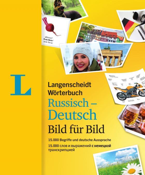 Cover-Bild Langenscheidt Wörterbuch Russisch-Deutsch Bild für Bild - Bildwörterbuch