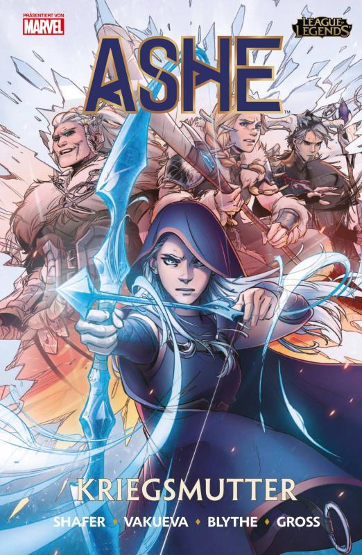 Cover-Bild League of Legends: Ashe - Kriegsmutter
