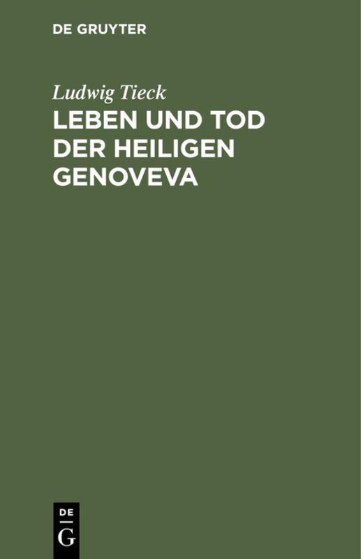 Cover-Bild Leben und Tod der heiligen Genoveva