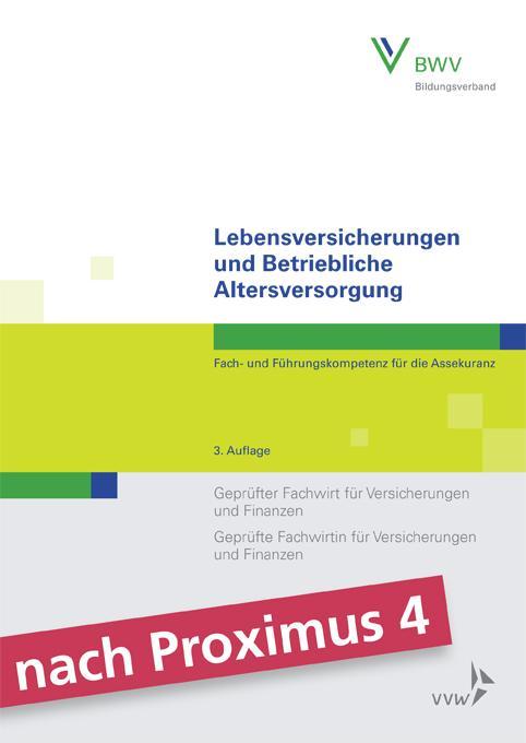 Cover-Bild Lebensversicherungen und Betriebliche Altersversorgung