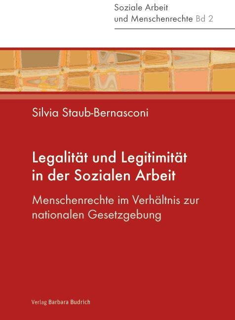 Cover-Bild Legalität und Legitimität in der Sozialen Arbeit