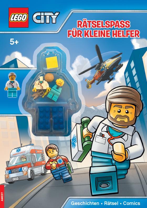 Cover-Bild LEGO® City Rätselspaß für kleine Helfer
