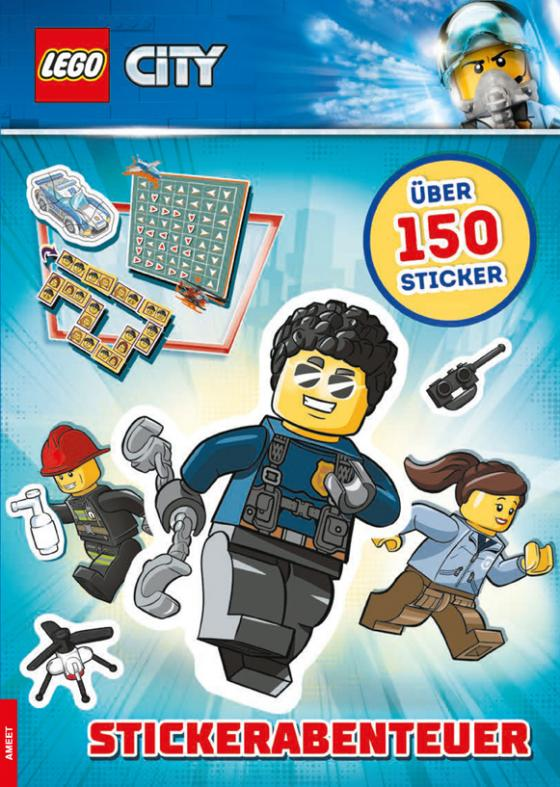 Cover-Bild LEGO City – Stickerabenteuer