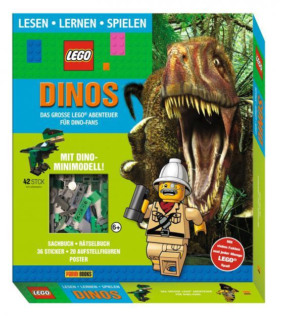 lego®: dinos das große lego® abenteuer für dino-fans