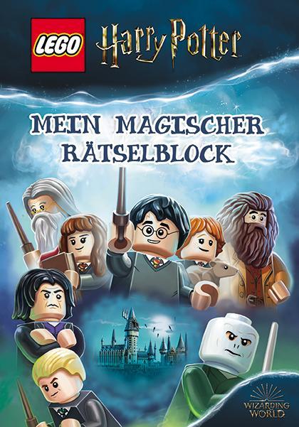Cover-Bild LEGO® Harry Potter™ – Mein magischer Rätselblock