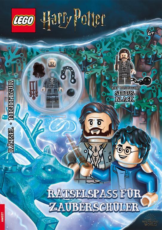 Cover-Bild LEGO®Harry Potter- Rätselspaß für Zauberschüler