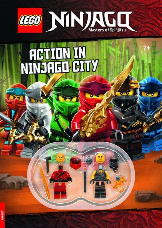 Cover-Bild LEGO® NINJAGO® – Action in Ninjago City