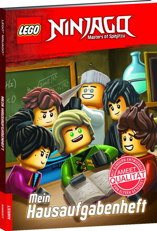 Cover-Bild LEGO® NINJAGO® Mein Hausaufgabenheft