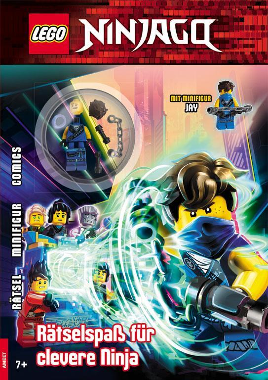 Cover-Bild LEGO® NINJAGO® – Rätselspass für clevere Ninja