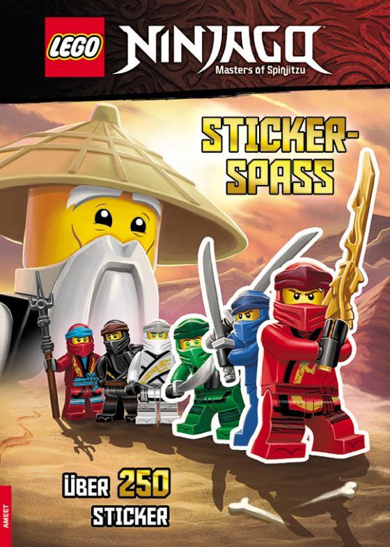 Cover-Bild LEGO® NINJAGO® – Stickerspaß