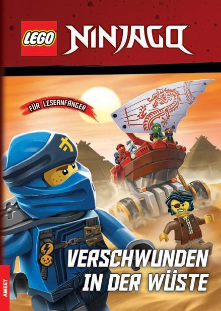 Cover-Bild LEGO® NINJAGO® – Verschwunden in der Wüste