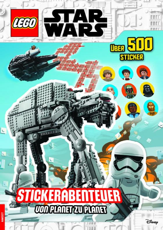 Cover-Bild LEGO® Star Wars™ – Stickerabenteuer – von Planet zu Planet