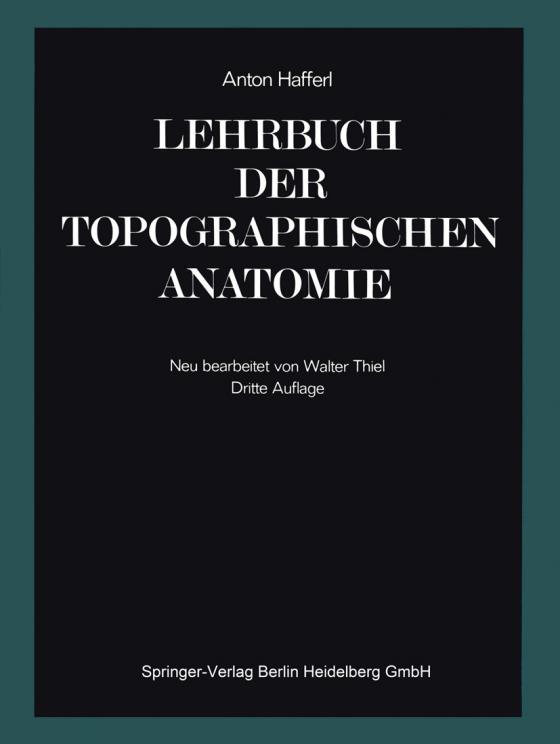 Cover-Bild Lehrbuch der topographischen Anatomie