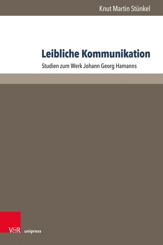 Cover-Bild Leibliche Kommunikation