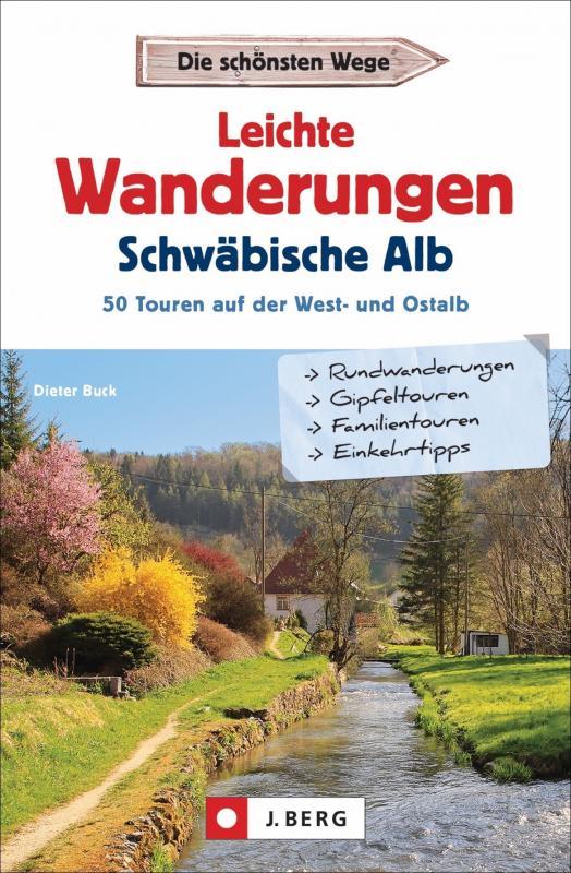 Cover-Bild Leichte Wanderungen Schwäbische Alb