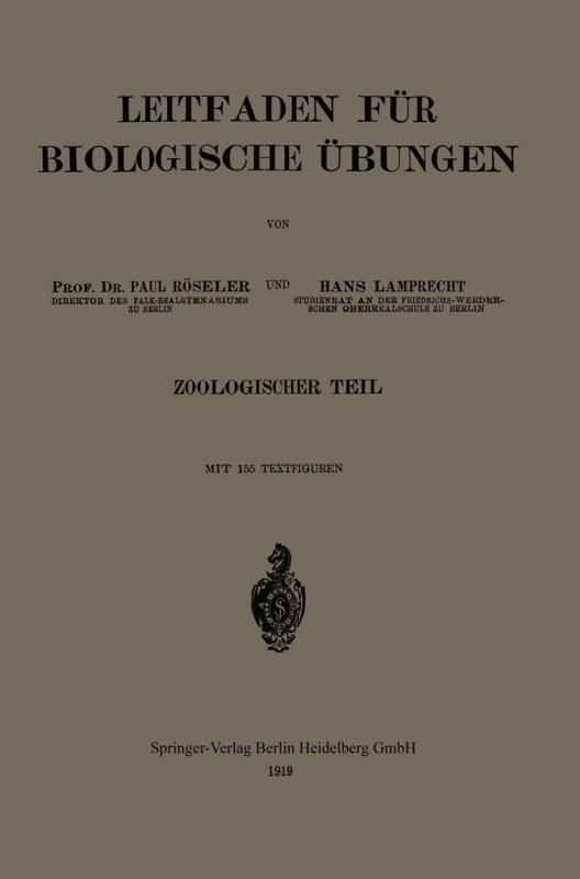 Cover-Bild Leitfaden für biologische Übungen