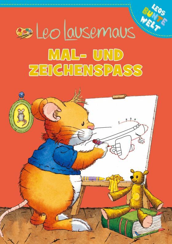 Cover-Bild Leo Lausemaus Mal- und Zeichenspaß
