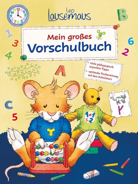 Cover-Bild Leo Lausemaus - Mein großes Vorschulbuch
