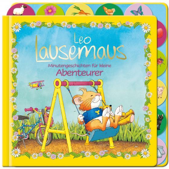 Cover-Bild Leo Lausemaus - Minutengeschichten für kleine Abenteurer