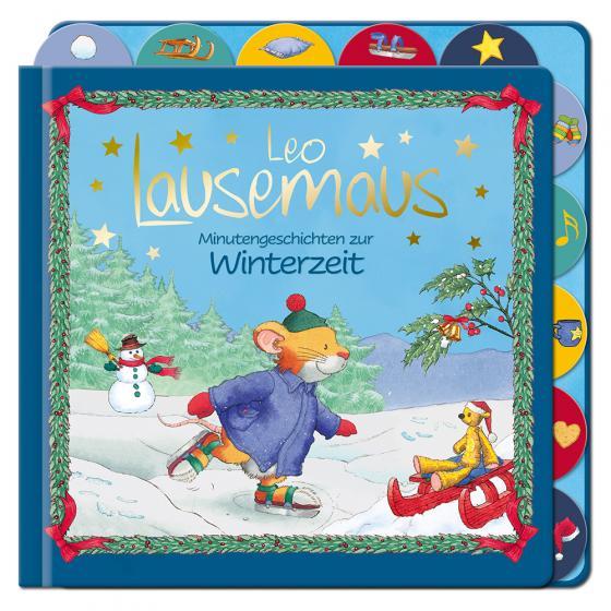 Cover-Bild Leo Lausemaus - Minutengeschichten zur Winterzeit