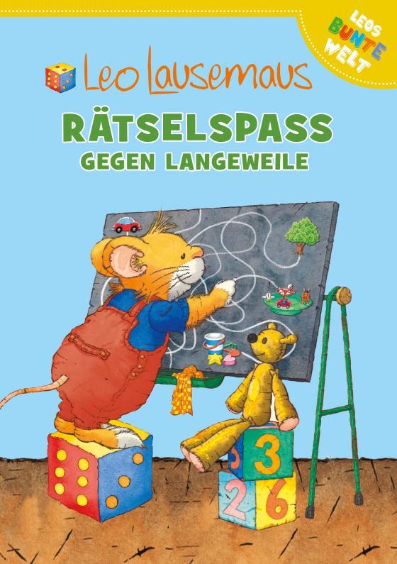 Cover-Bild Leo Lausemaus - Rätselspaß gegen Langeweile