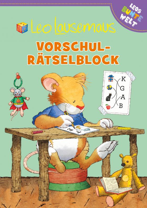 Cover-Bild Leo Lausemaus Vorschul-Rätselblock