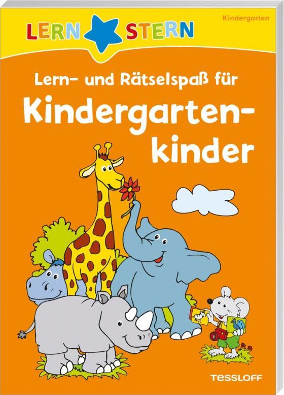 Cover-Bild Lern- und Rätselspaß für Kindergartenkinder
