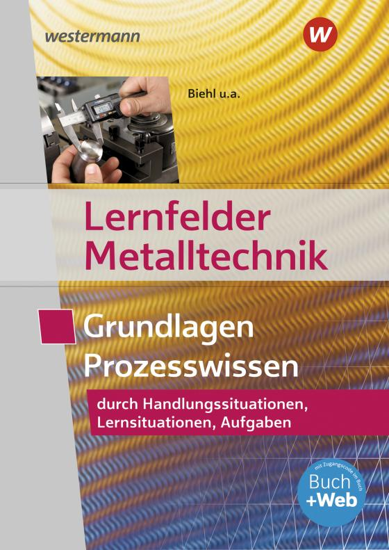 Cover-Bild Lernfelder Metalltechnik
