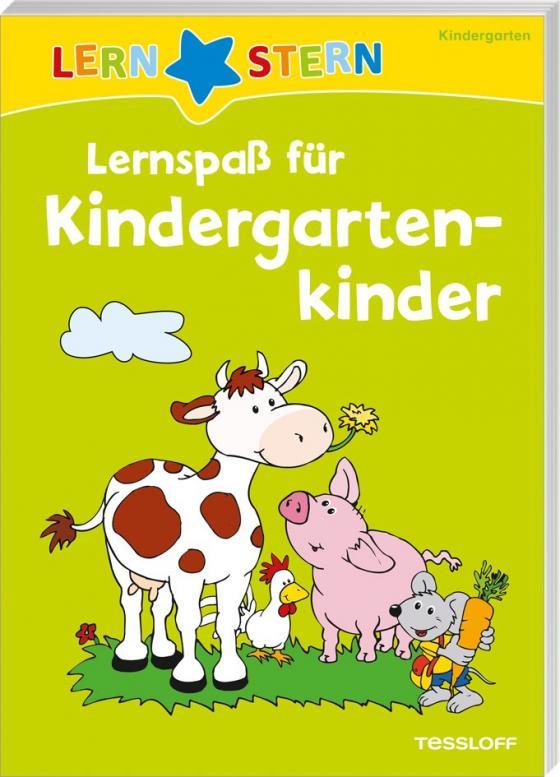 Cover-Bild Lernspaß für Kindergartenkinder