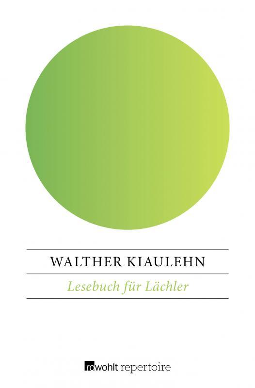 Cover-Bild Lesebuch für Lächler