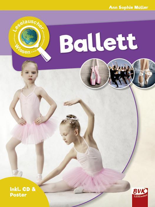 Cover-Bild Leselauscher Wissen: Ballett (inkl. CD)