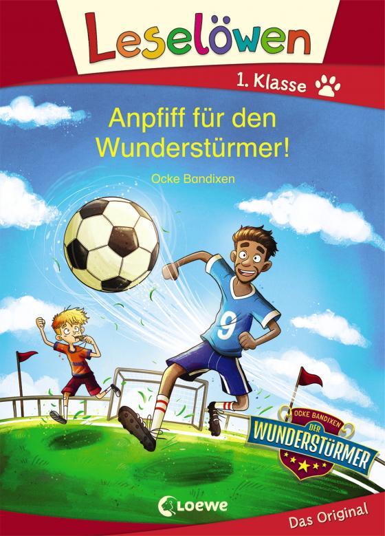 Cover-Bild Leselöwen 1. Klasse - Anpfiff für den Wunderstürmer!