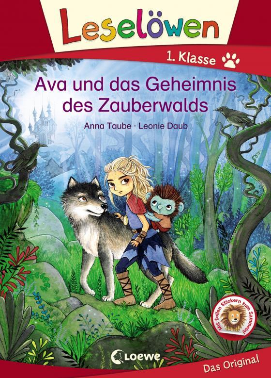 Cover-Bild Leselöwen 1. Klasse - Ava und das Geheimnis des Zauberwalds